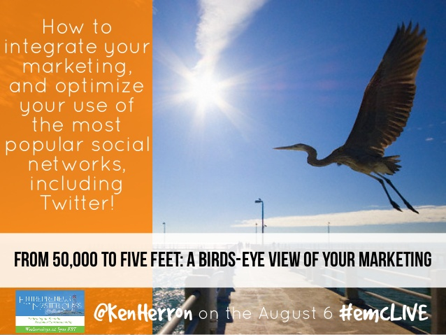Ken Herron Presents a Birds-Eye View of Marketing